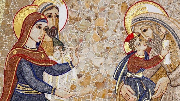 Ur Jézus bemutatása a templomban