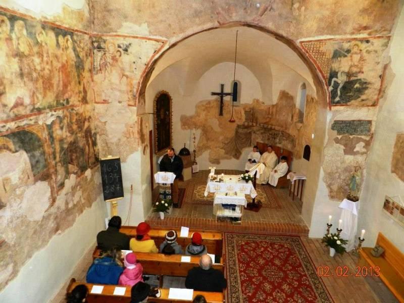 Cserkút: templombelső