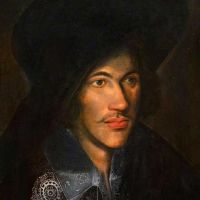 Ismeretlen festő: John Donne (1595k), National Portrait Gallery, London